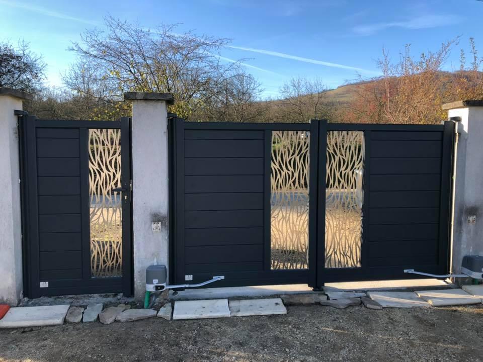 Portails et clôtures en ALU ou PVC - Rémy FERERE
