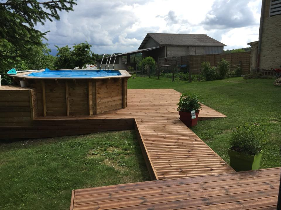 Terrasse bois PIN ou IPE - Rémy FERERE